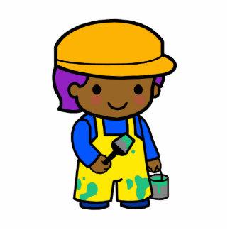 Painter Boy Cutout