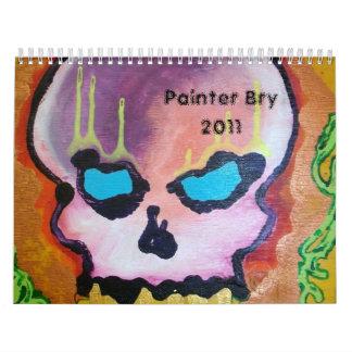 Painter Bry 2011 Calendar