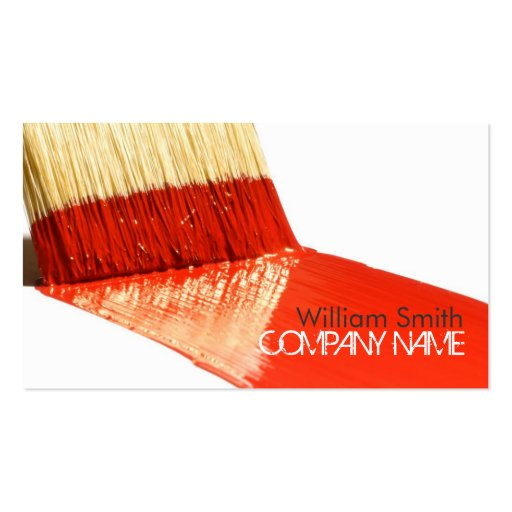 50 000 painter business cards and painter business card templates