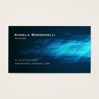 Painter Business Card Flashback