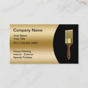 Painter business cards templates zazzle painter business cards colourmoves