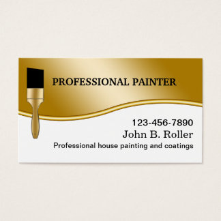 Business card for painter kkklinton painting contractor business cards templates zazzle colourmoves