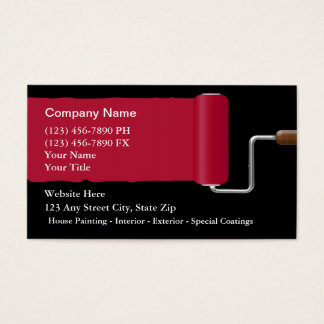 Painter Business Cards & Templates | Zazzle