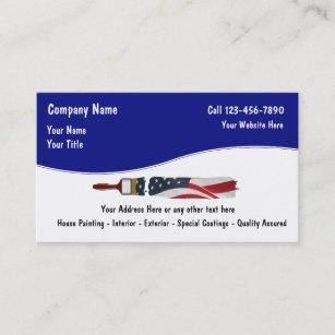 Painter business cards templates zazzle painter business cards colourmoves