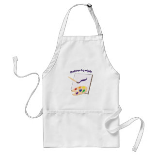 Painter By Night Adult Apron