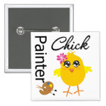 Painter Chick Pins