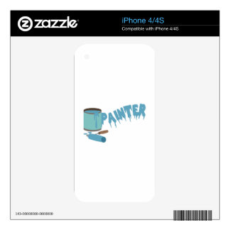 Painter Decals For The iPhone 4