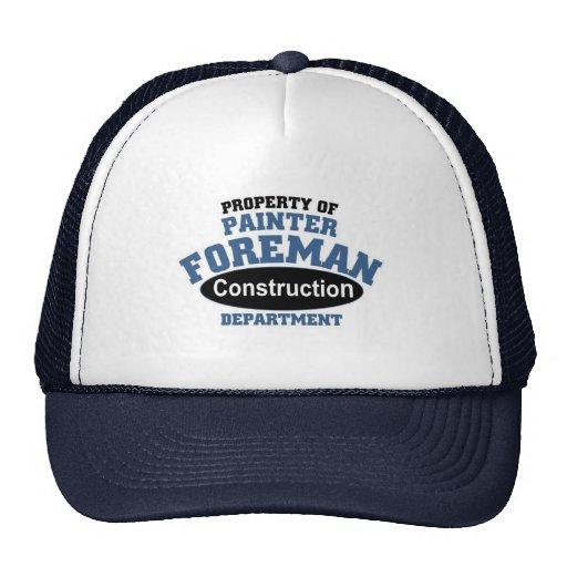 Painter Foreman Trucker Hats
