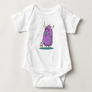 Painter monster baby bodysuit