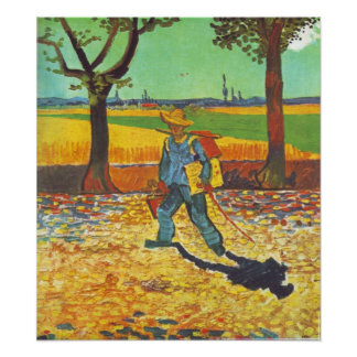 Painter on the Road to Tarascon Poster