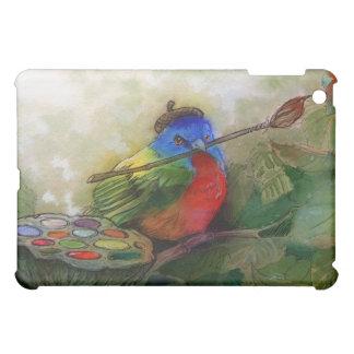 Painter Painted Bunting Bird Ipad Case