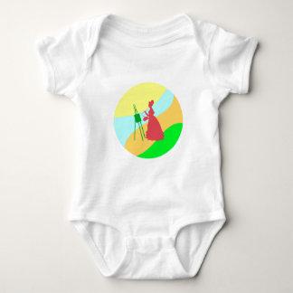 Painter paintress baby bodysuit