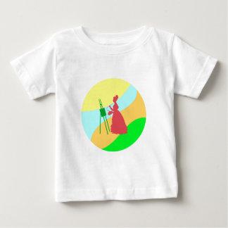 Painter paintress baby T-Shirt