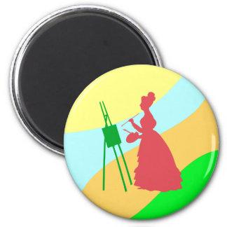 Painter paintress magnet
