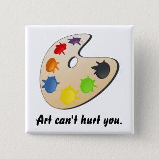 Painter Palette Pinback Button