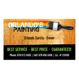 Painter s Business Card