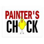 PAINTER'S CHICK POSTCARDS