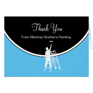 Painter Thank You Cards
