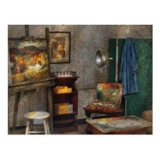 Painter - The Artists Studio Postcards