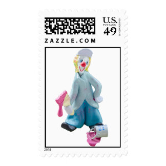 Painter the Clown Postage Stamps