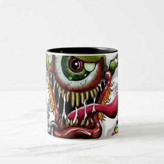 PainterEyes-002, PainterEyes-002 Two-Tone Coffee Mug