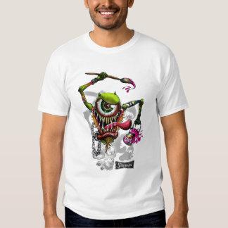 PainterEyes-002, RUSTED-SUBVERSIVA-01 T-Shirt