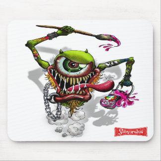 PainterEyes-002, RUSTED-SUBVERSIVA-03 Mouse Pad