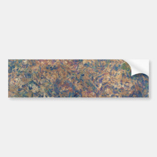 Painterly Abstraction TPD Bumper Sticker
