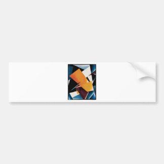Painterly Architectonic by Lyubov Popova Bumper Sticker