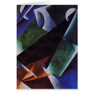 Painterly-Architectonic by Lyubov Popova Card