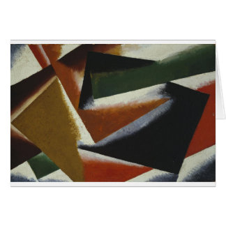 Painterly Architectonic by Lyubov Popova Card