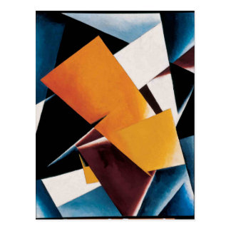 Painterly Architectonic by Lyubov Popova Postcard