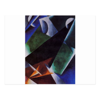 Painterly-Architectonic by Lyubov Popova Postcard