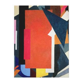 Painterly Architectonics, 1916-17 Canvas Print