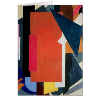 Painterly Architectonics, 1916-17 Card