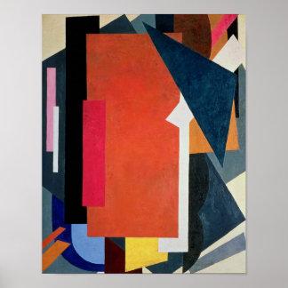 Painterly Architectonics, 1916-17 Poster