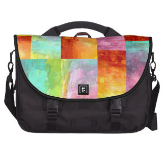 Painterly Mosaic Bags For Laptop
