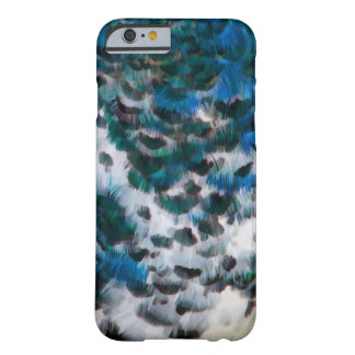 Painterly Peacock Pattern Barely There iPhone 6 Case