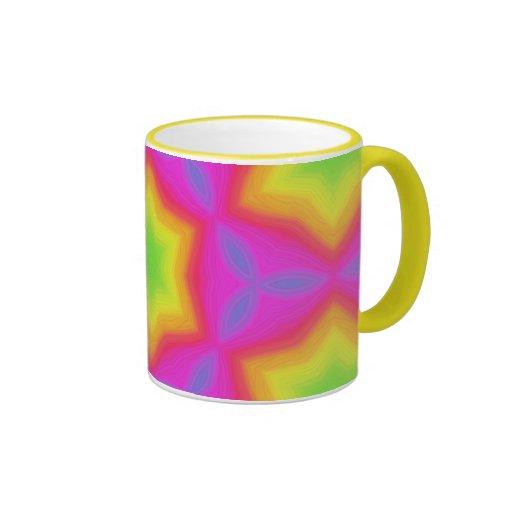 Painterly Rainbow Blossom 2 Mug