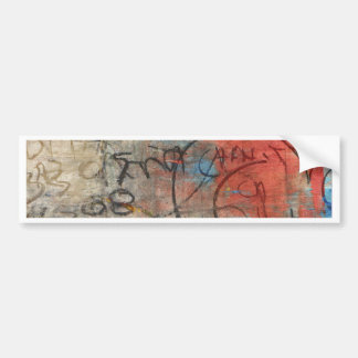 Painterly Scribbles Bumper Sticker