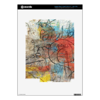 Painterly Scribbles iPad 3 Skin