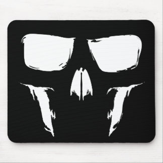 Painterly Skull Mouse Pad