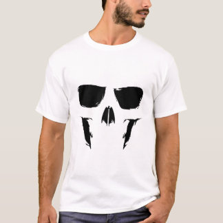 Painterly Skull T-Shirt