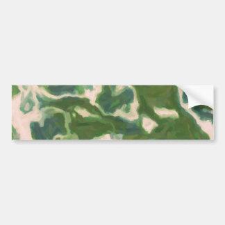 Painterly Texture TPD Bumper Sticker