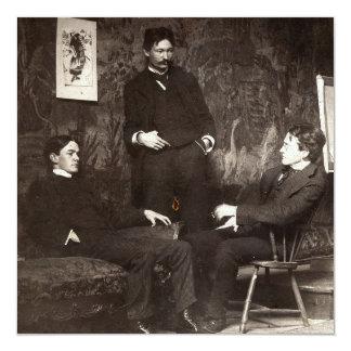 Painters Everett Shinn Robert Henri John Sloan Card