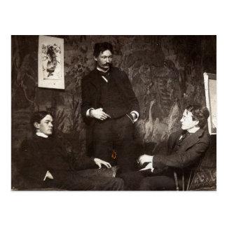 Painters Everett Shinn Robert Henri John Sloan Postcard