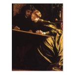 Painter's Honeymoon by Leighton, Victorian Art Postcard