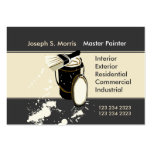 Painters  Painting Services Large Business Cards (Pack Of 100)