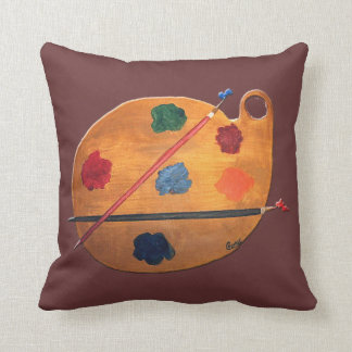 Painter's Palette American MoJo Pillow