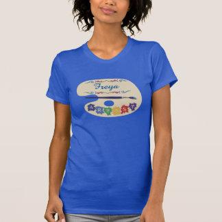 Painters Palette Custom Name T-Shirt
